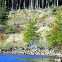 Dated: 07/10/2012 Participants compete in the Salomon Kielder Marathon hosted by Northumbrian Water today (Sun) #NorthNewsAndPictures/2daymedia