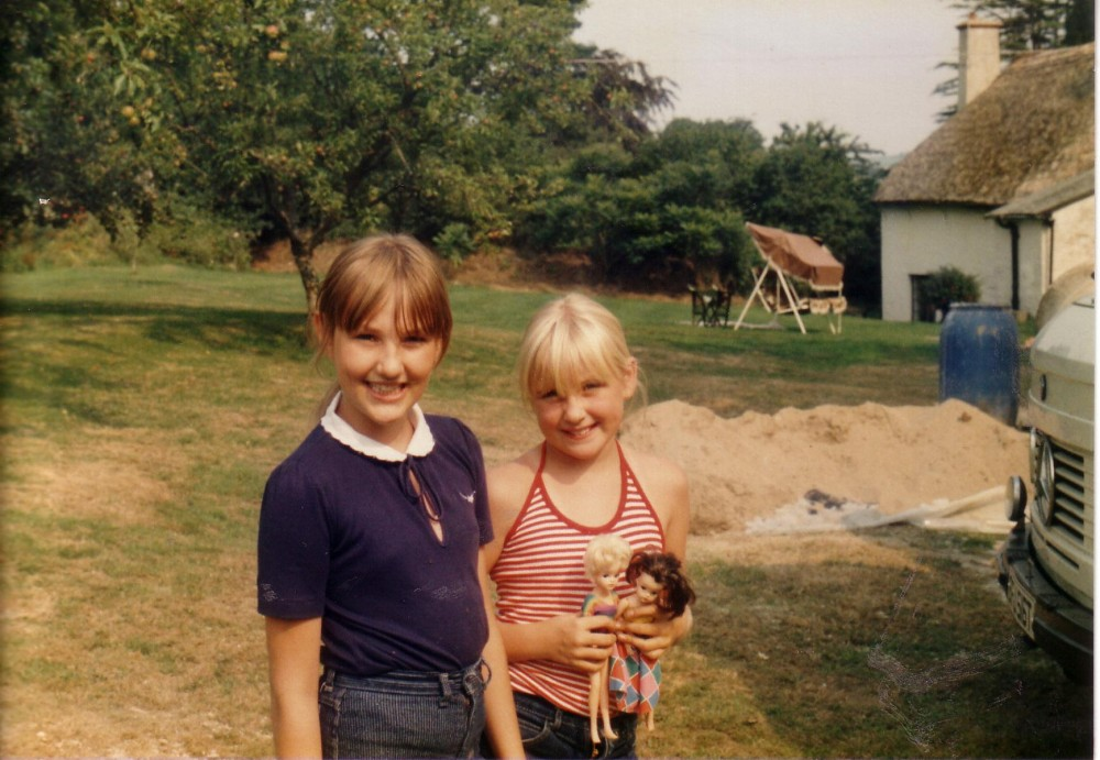1984 Kerstine Herbert and Ginty Telfer-Wilkes