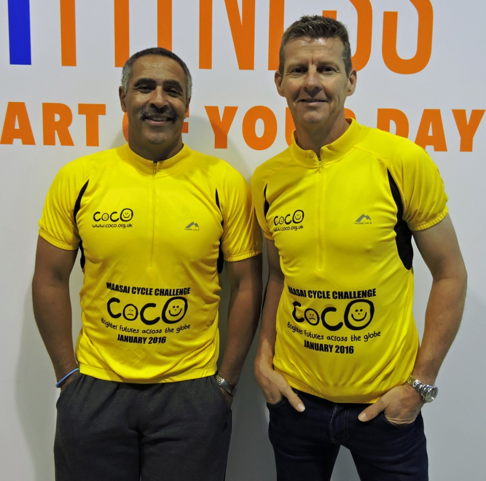 Daley Thompson and Steve Cram