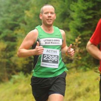 Kielder Marathon runner
